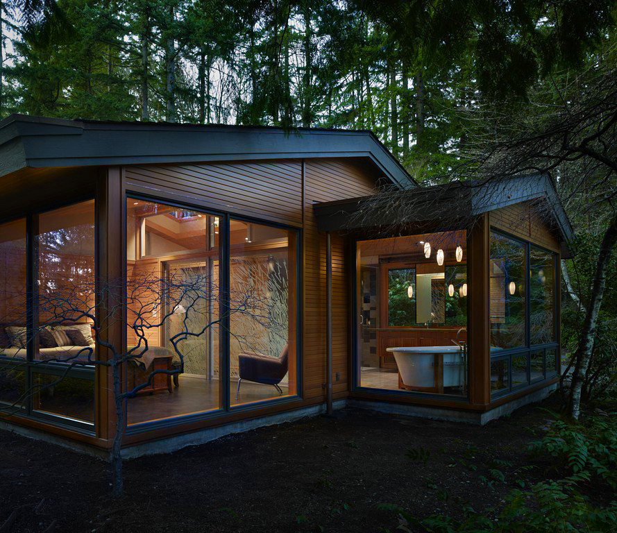 House in the forest by Finne Architects