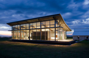 Glass Farmhouse by Olson Kundig Architects