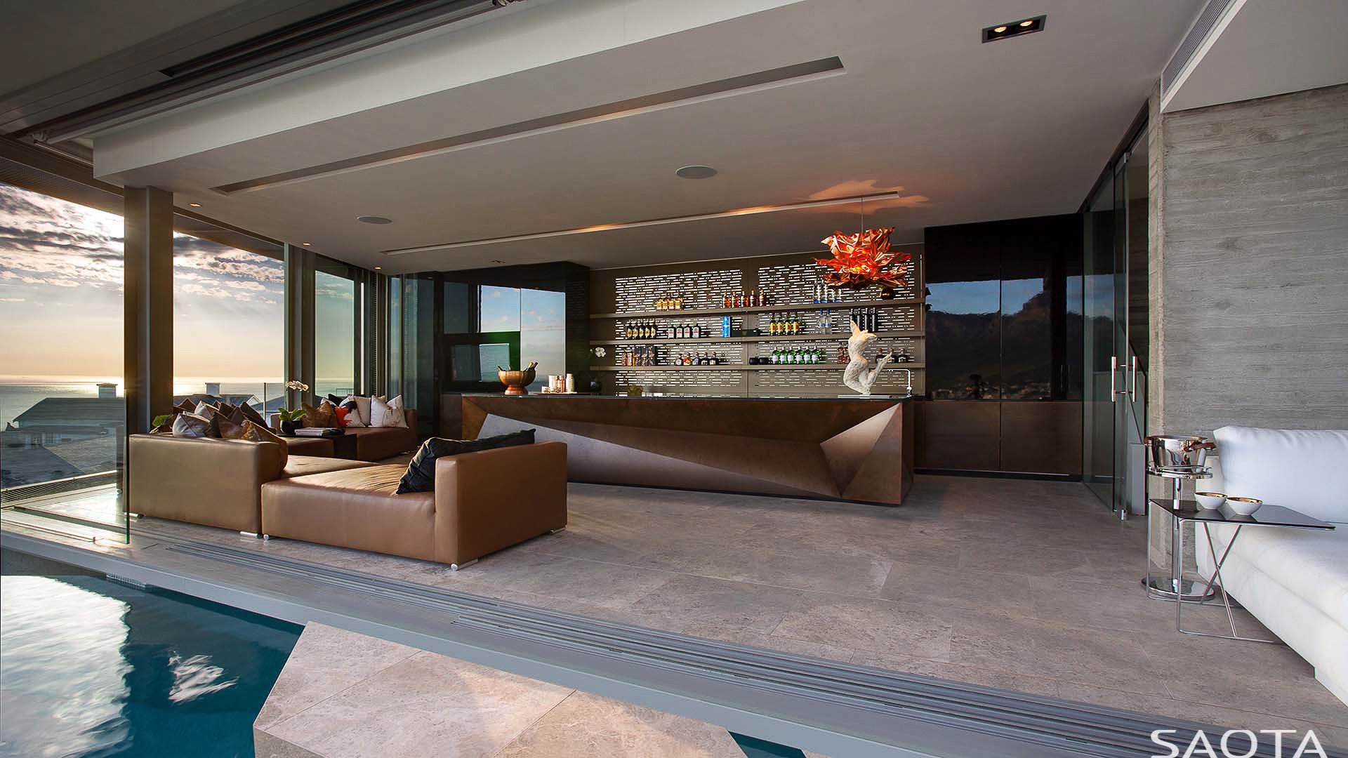 Contemporary residence by SAOTA