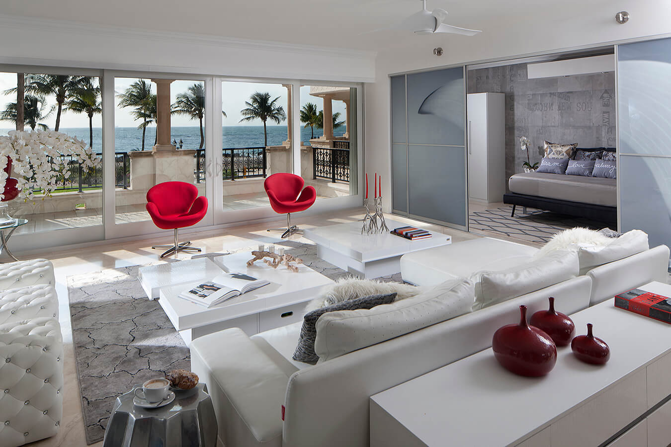 Miami Beach Apartment by Pauline Zurich