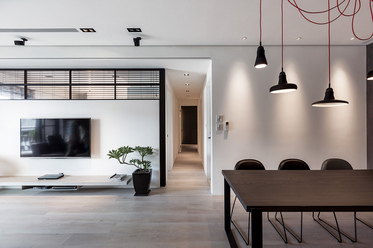 Modern Apartment by LCGA Design