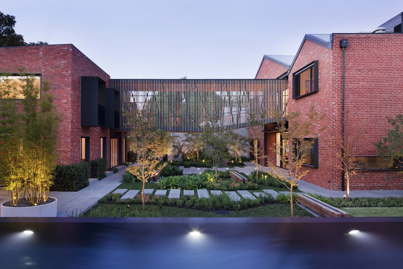 Bakery Warehouse Conversion by Jackson Clements Burrows Architects
