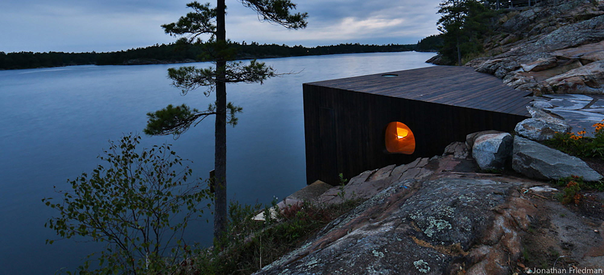 Grotto Sauna by Partisans