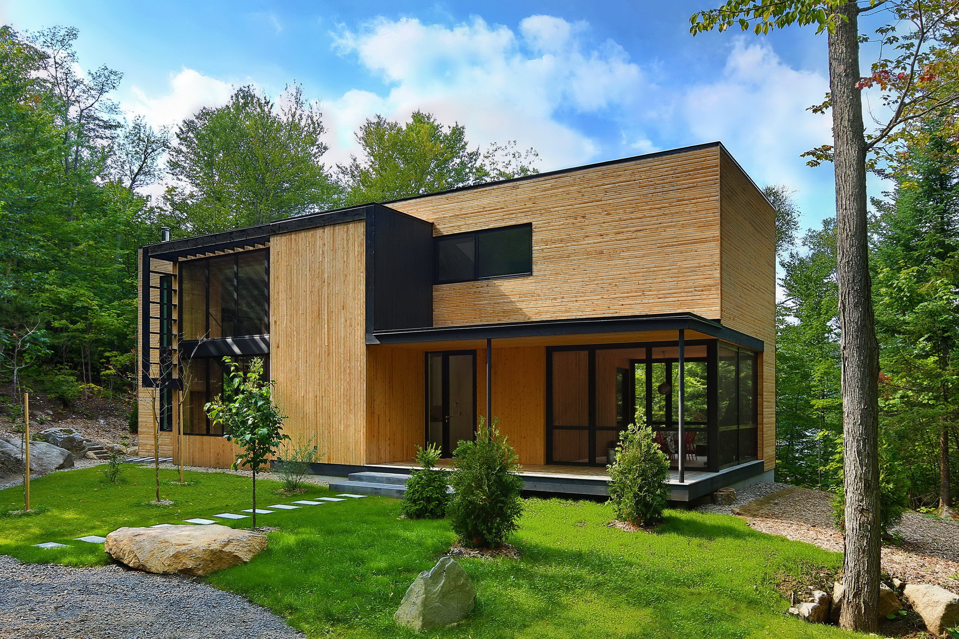 La Chasse-Galerie by Thellend Fortin Architectes