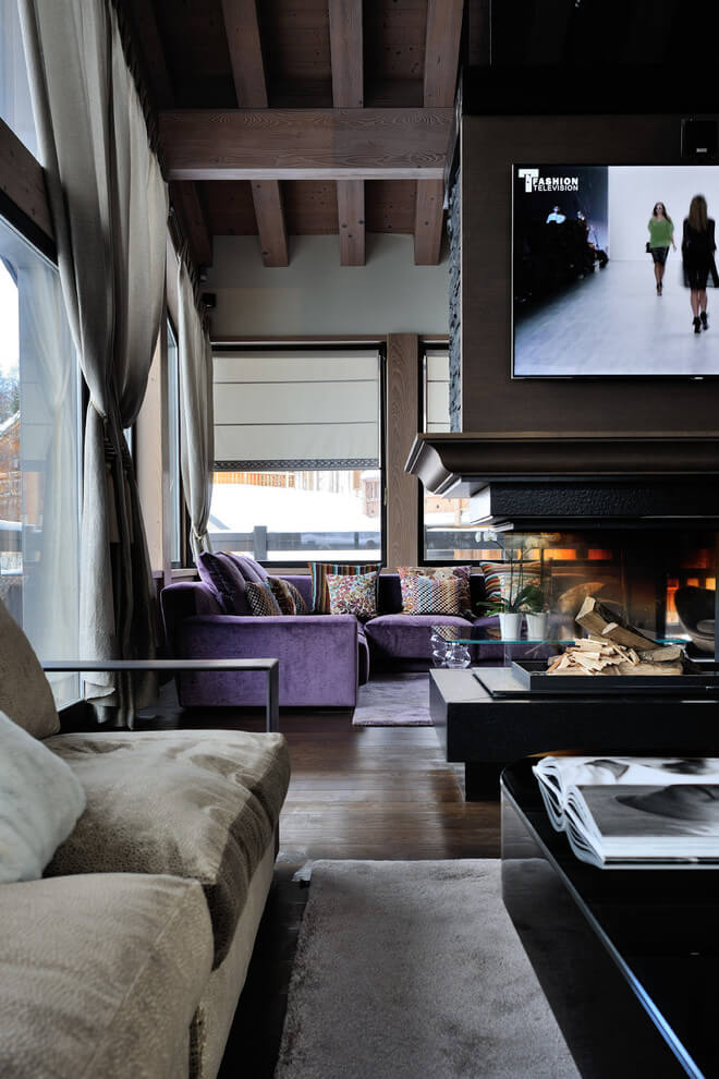 Luxury Chalet by Jean-Marc and Anne-Sophie Mouchet