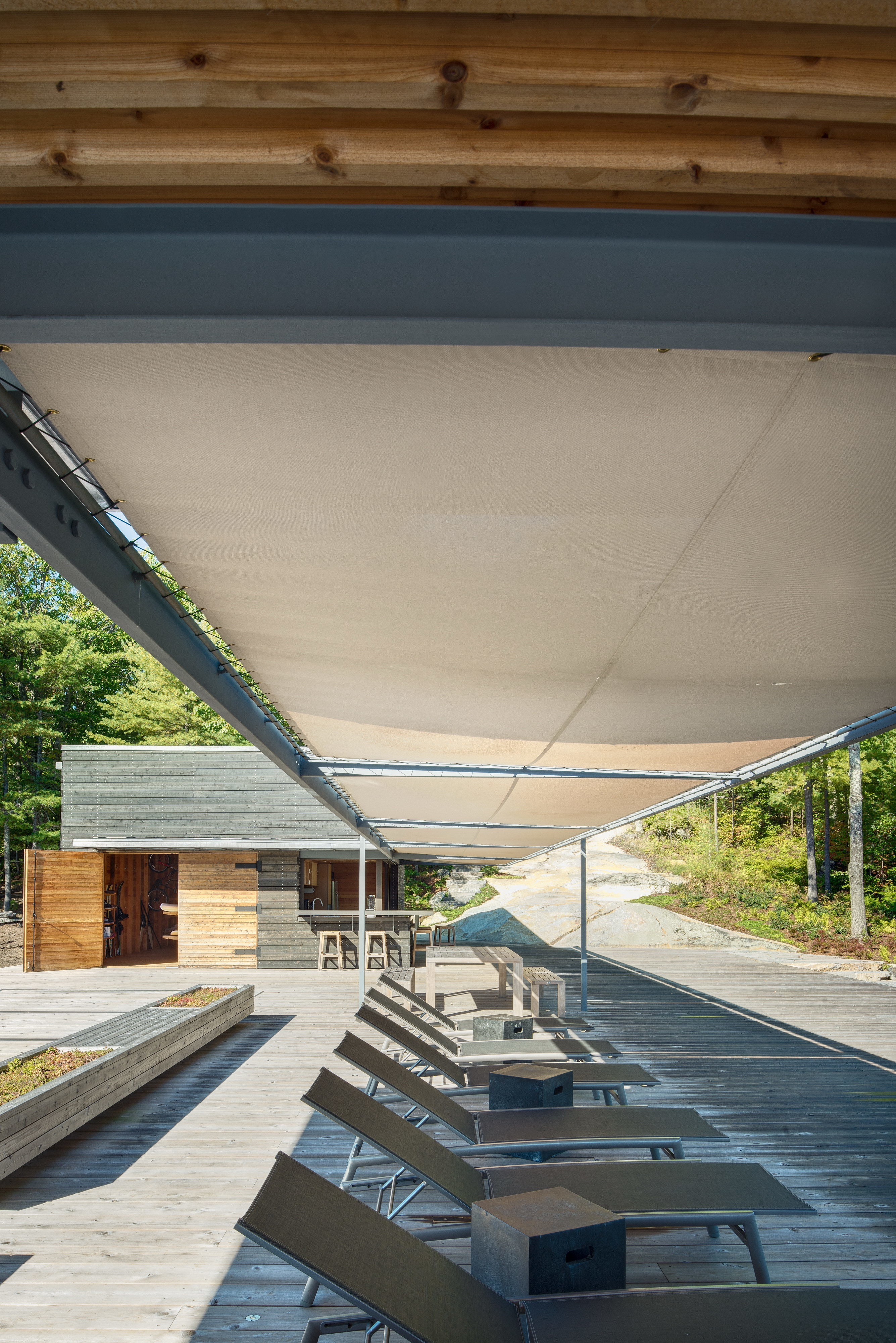 Modern Boathouse by Weiss Architecture & Urbanism Limited