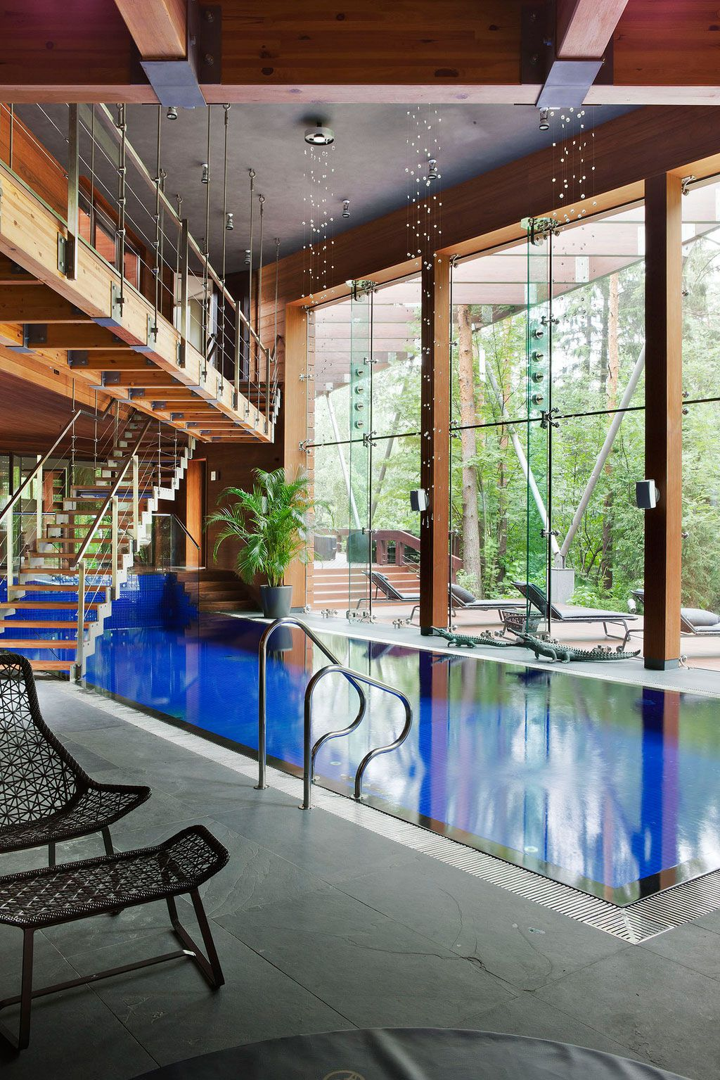 Modern House Near Moscow by Olga Freiman