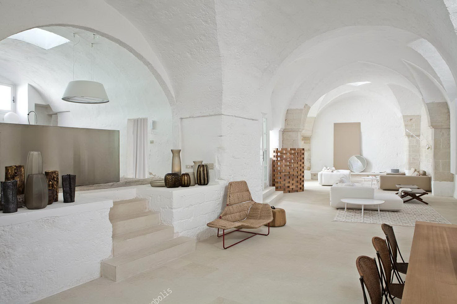 Renovation of an ex Oil Mill by Ludovica + Roberto Palomba