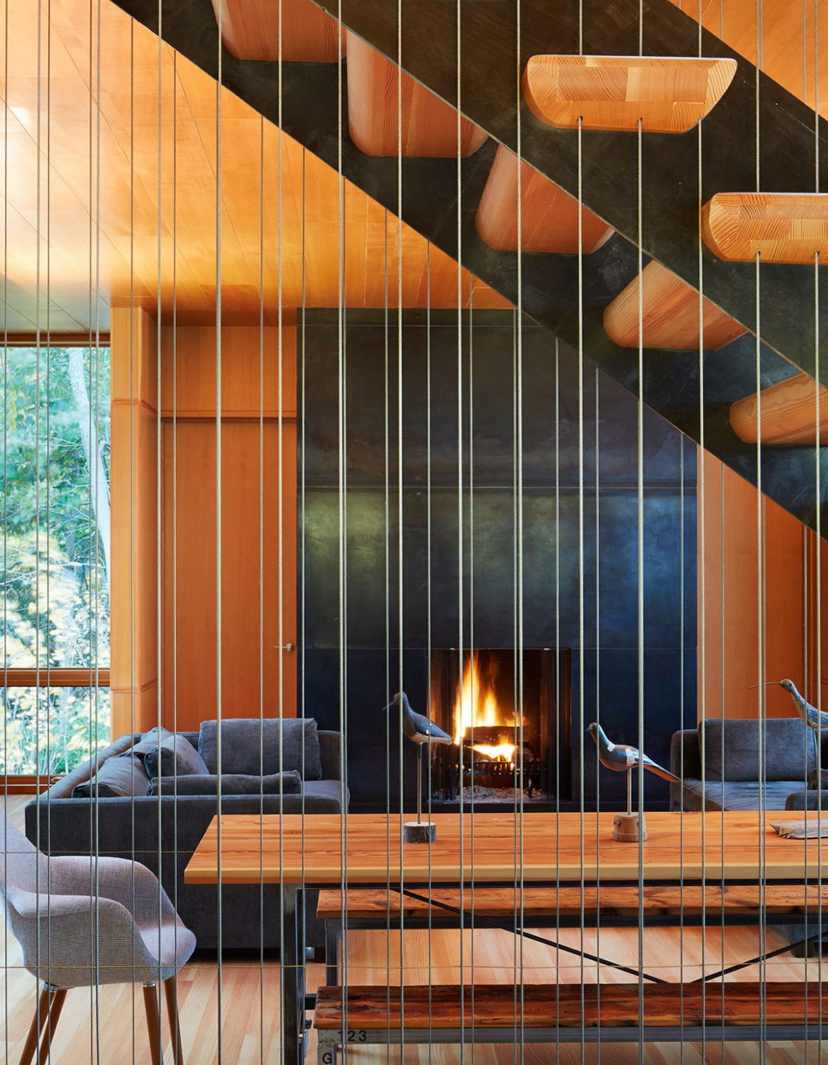 Suns End Retreat by Wheeler Kearns Architects