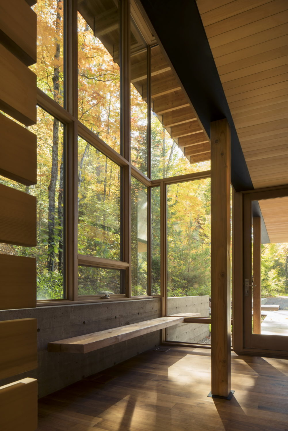The Bear Stand by Bohlin Cywinski Jackson