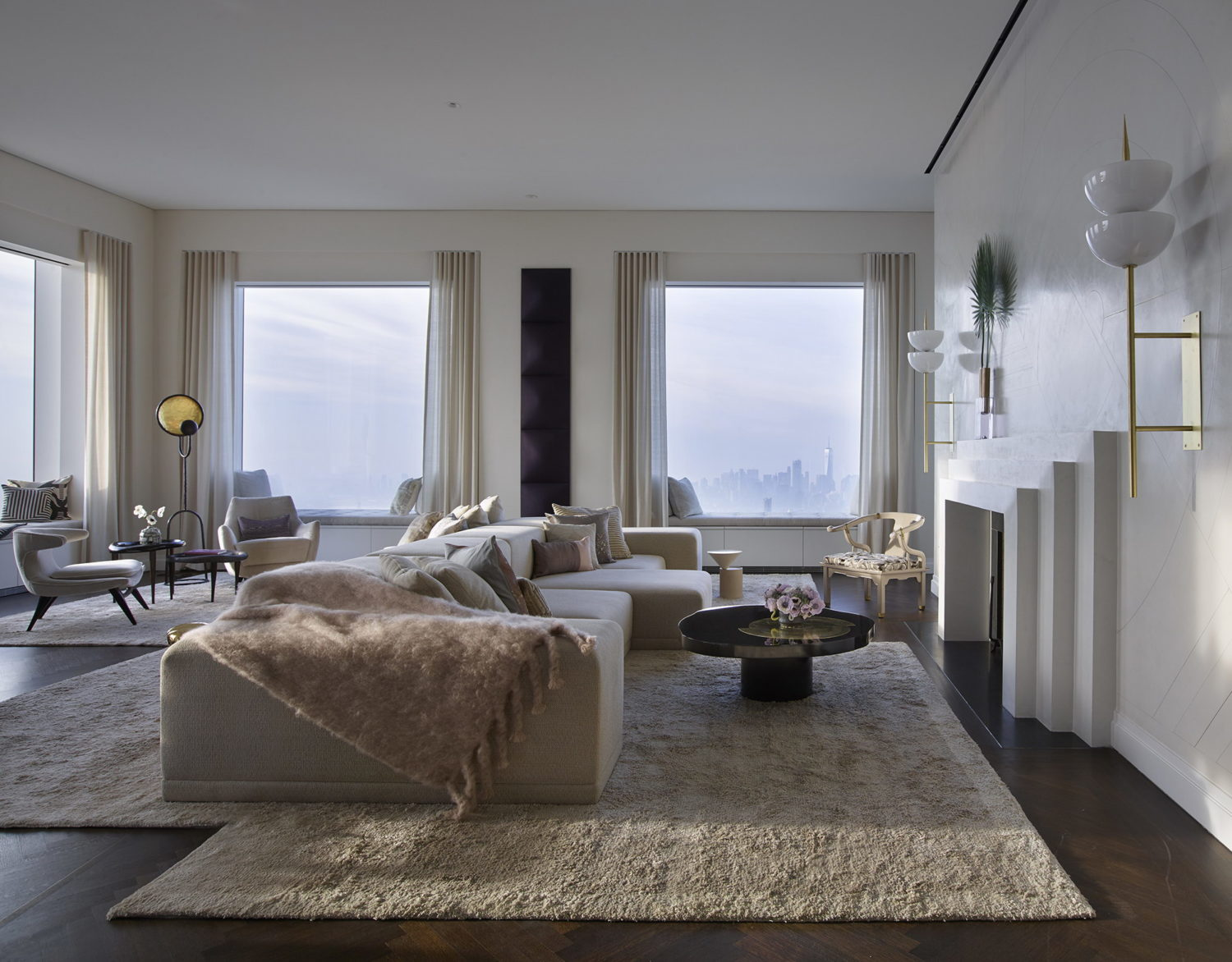 The highest completed penthouse in New York City