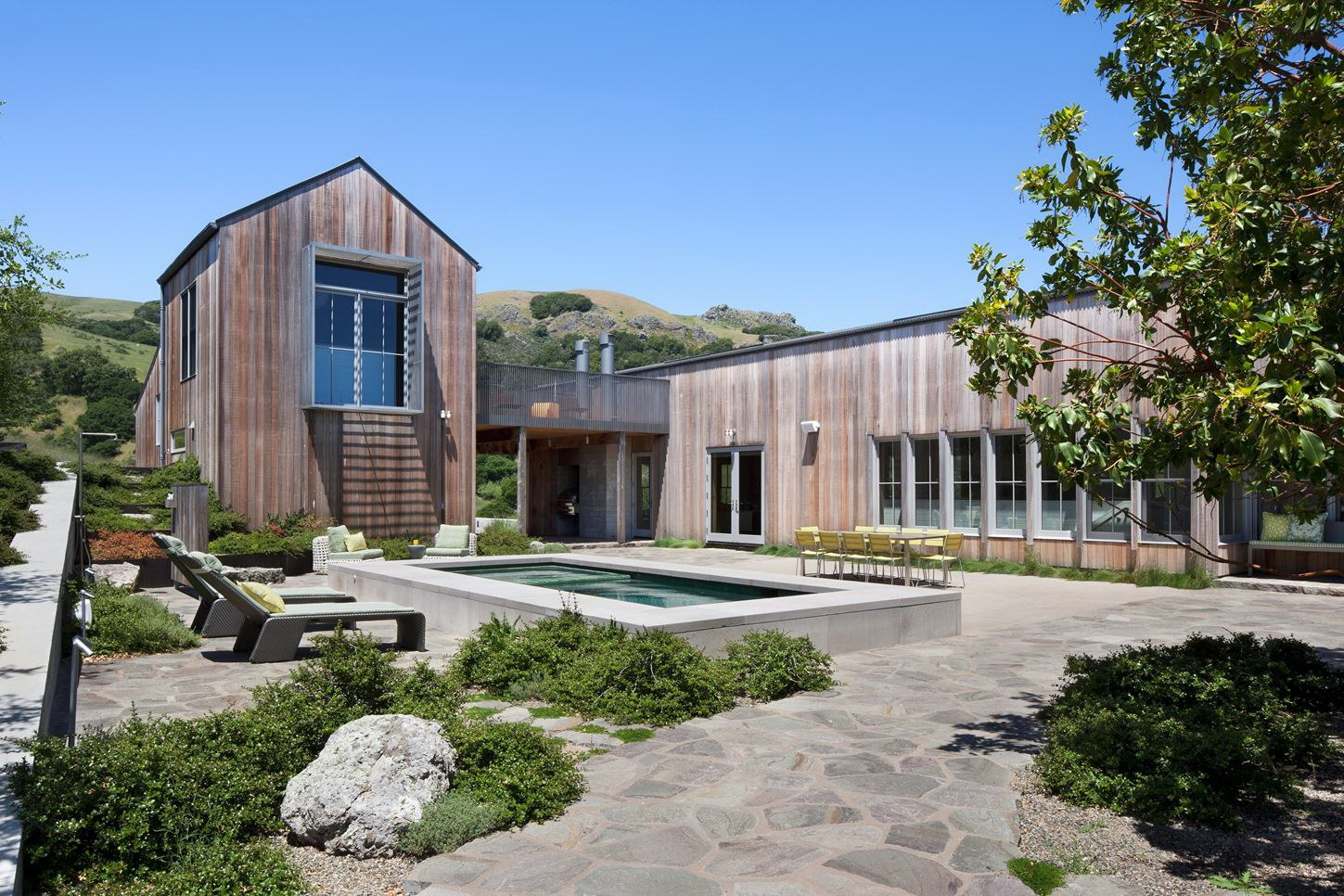 West Marin Ranch by Turnbull Griffin Haesloop Architects and Lotus Bleu Home Décor & Interior Design