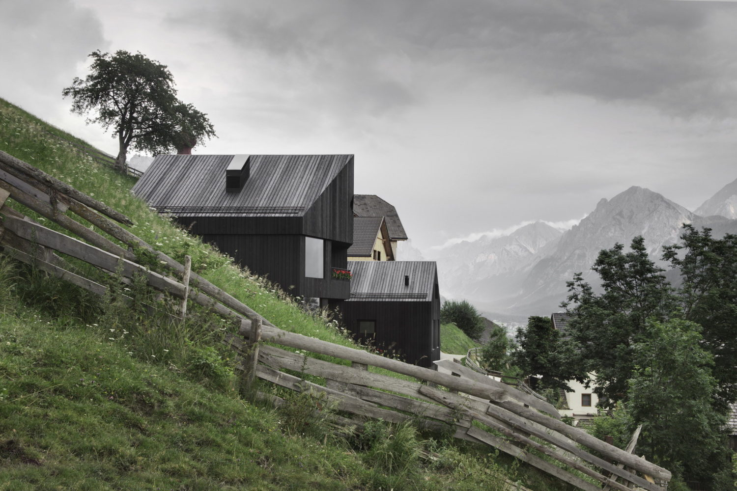 Alpine Cabins by Pedevilla Architects