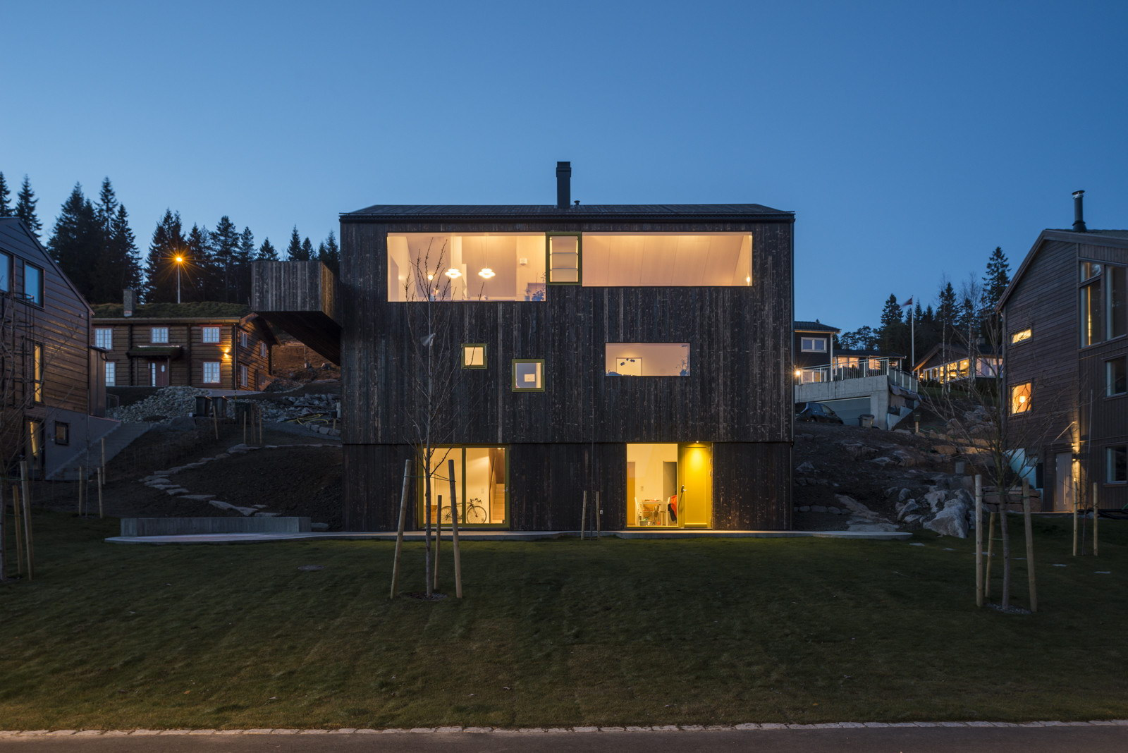 House Linnebo by Schjelderup Trondahl Architects