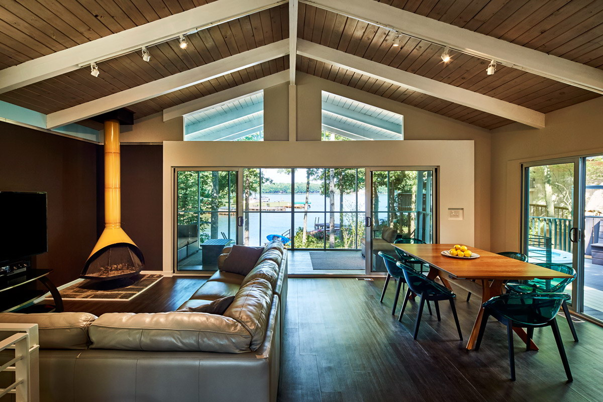 Lake House by KUBE Architecture