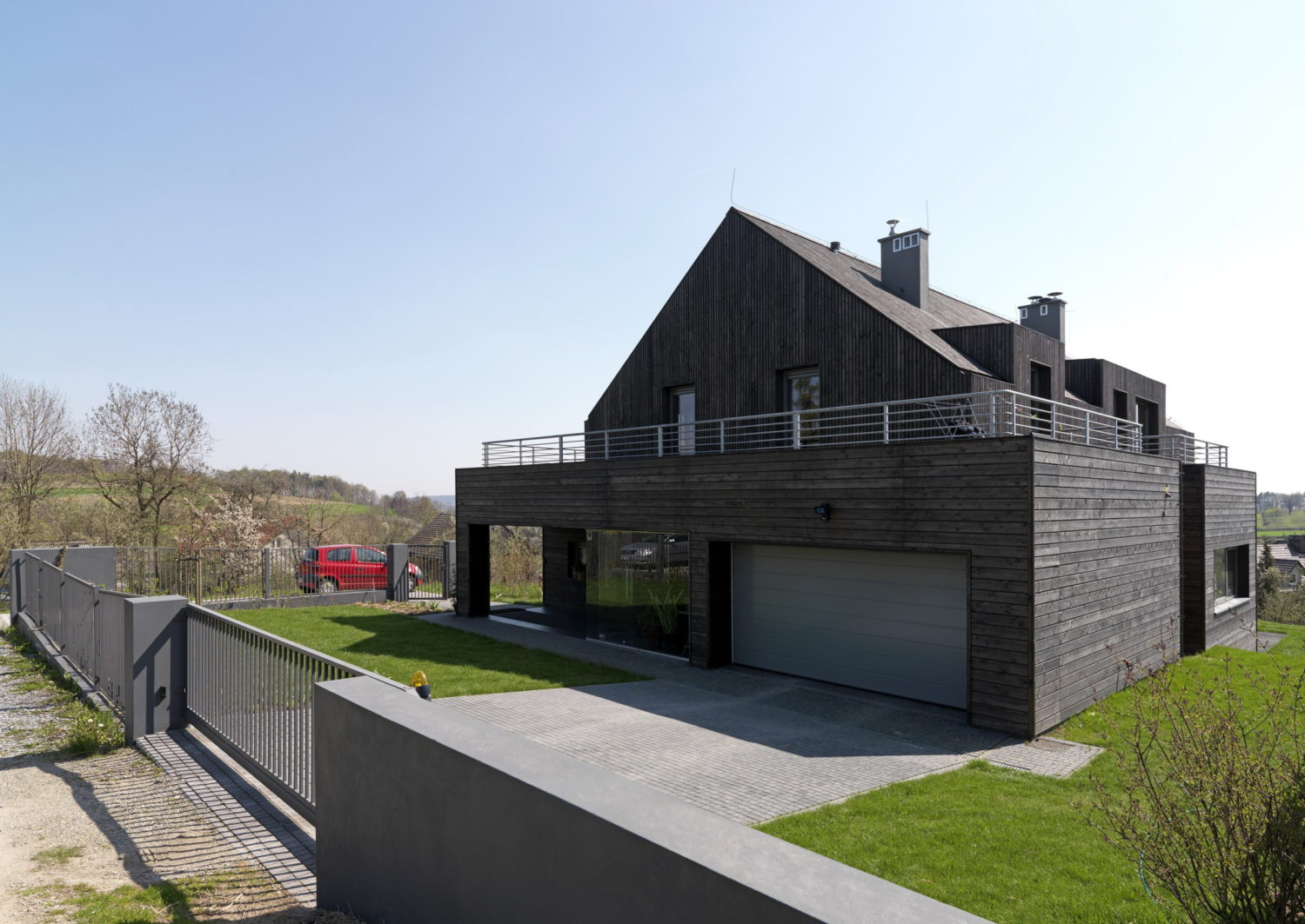 Single-family Country House in Burow