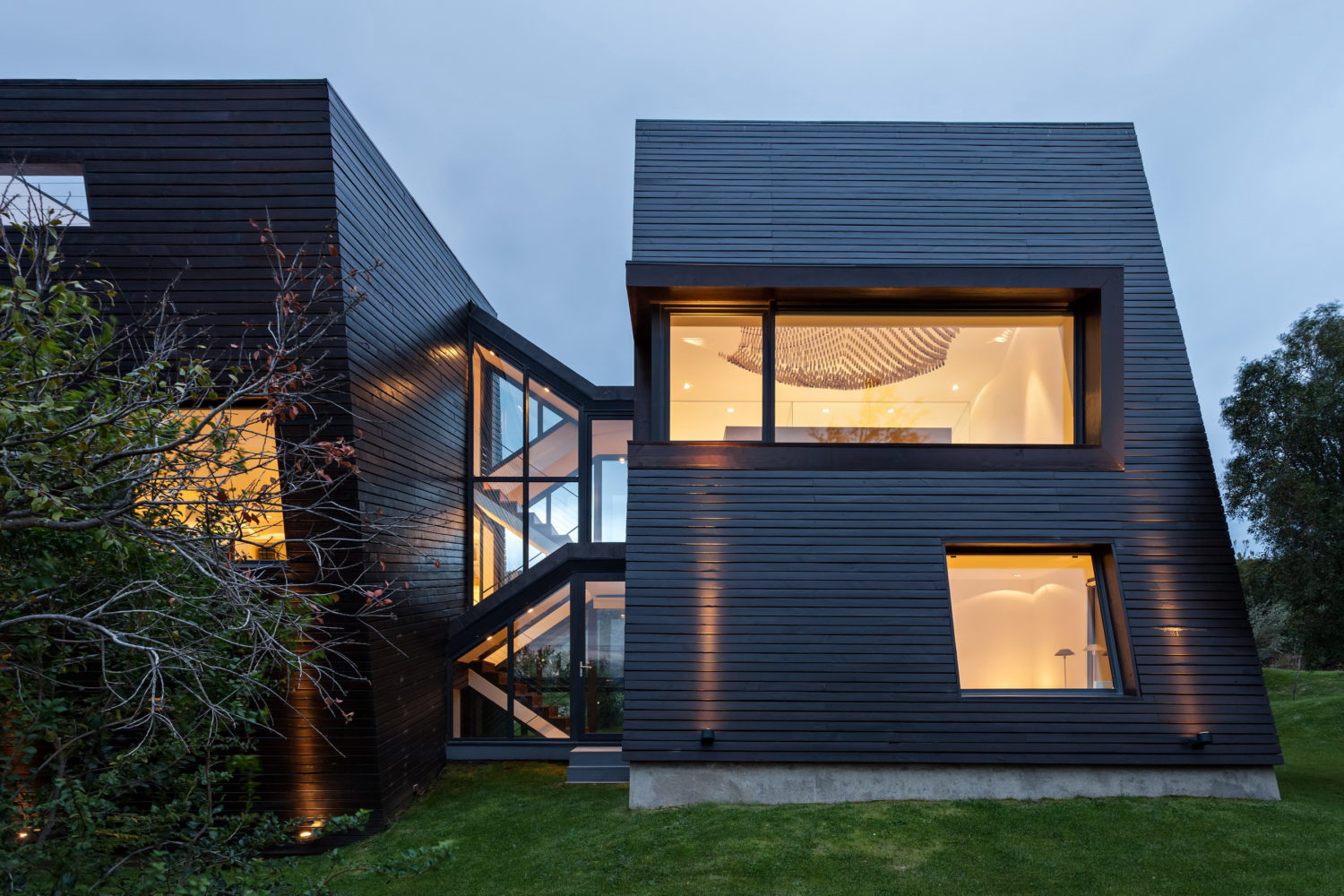 Spacious House With Five Prisms by Alric Galindez