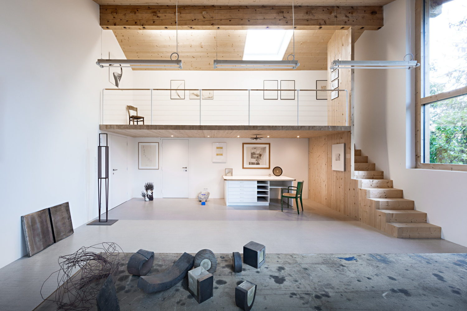Workshop Renovation by Messner Architects