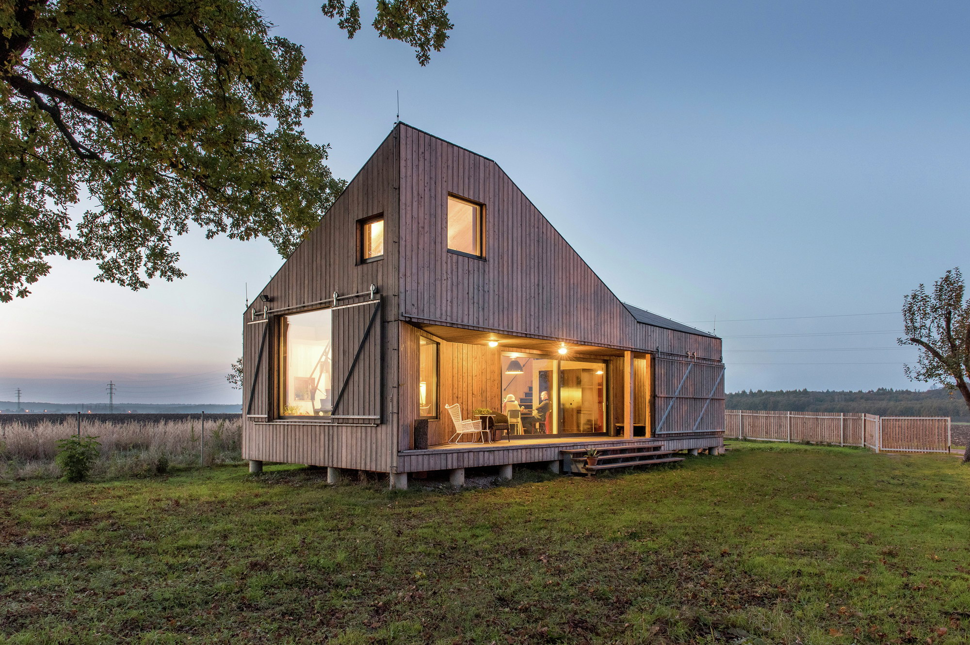 Energy Efficient Wooden House Zilvar
