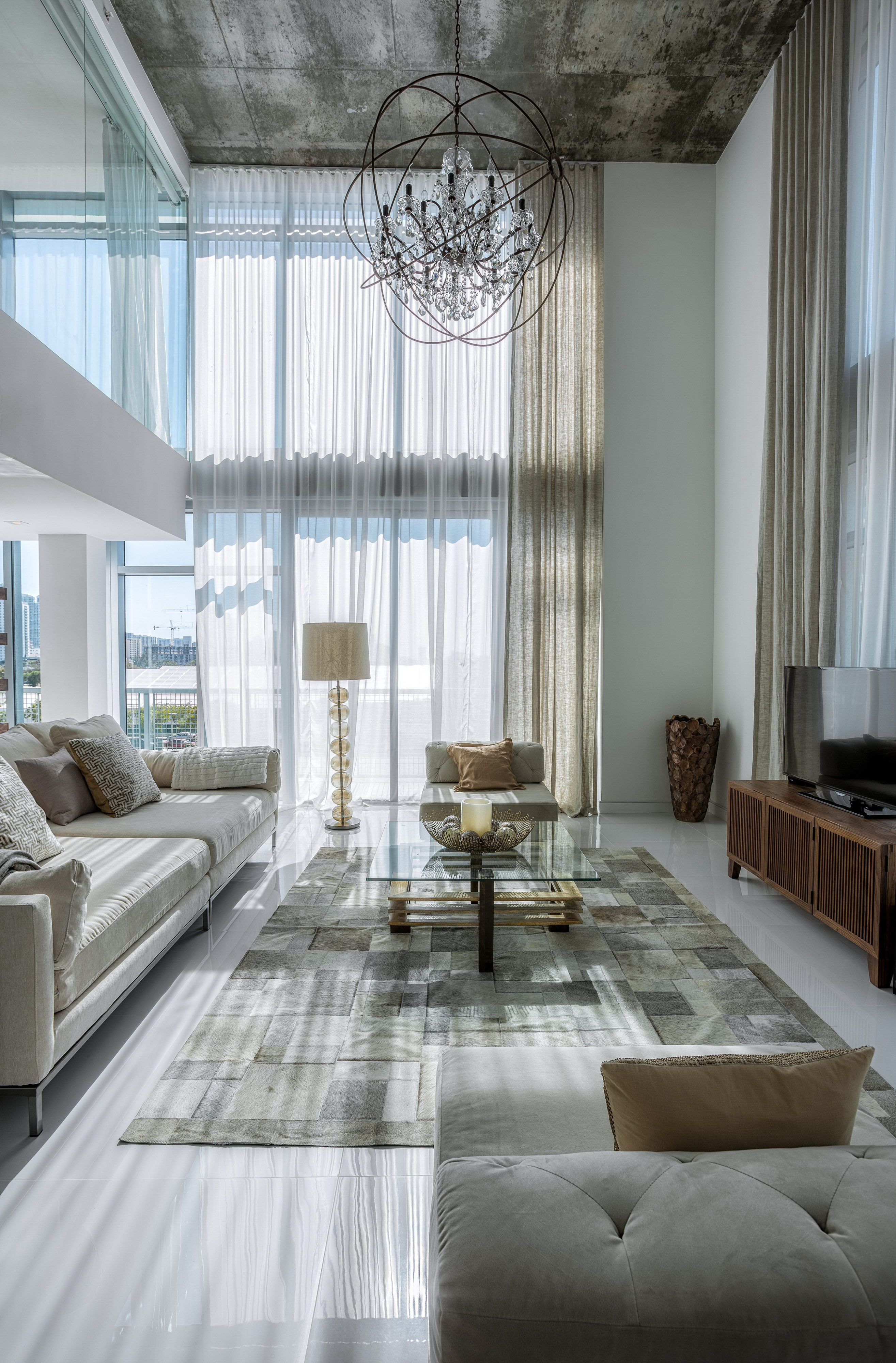 Penthouse 7 at 4 Midtown by Mila Design