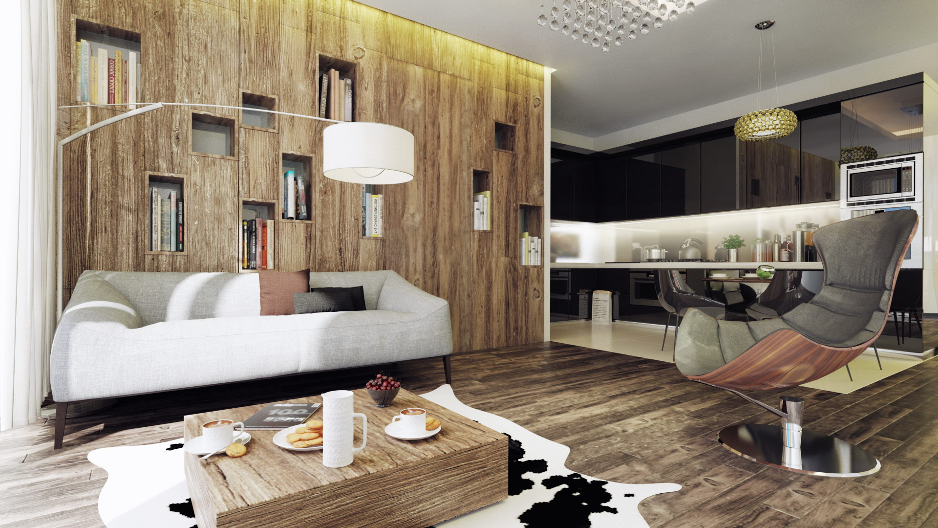 Luxury Apartment Renovation in Budapest