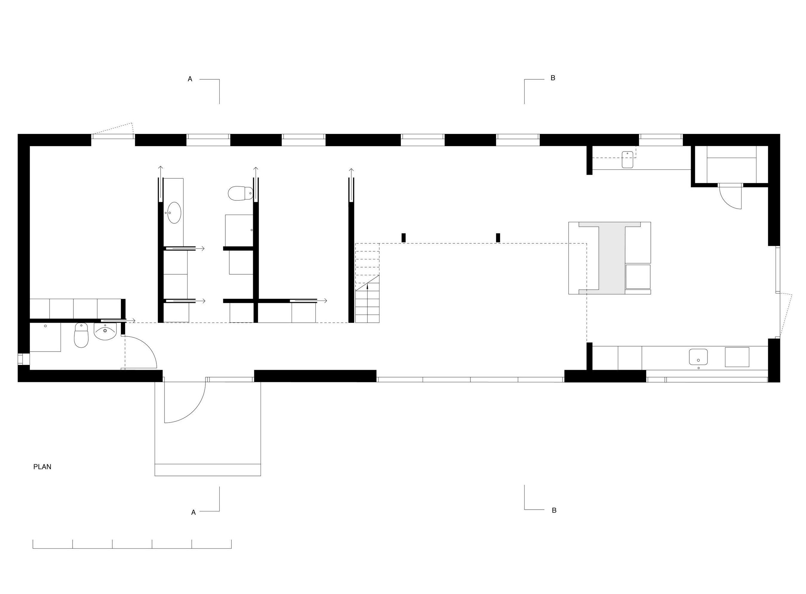 Simple House at Lake Båven by M.B.A.