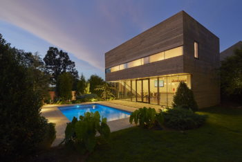 Srygley Pool House by Marlon Blackwell Architects