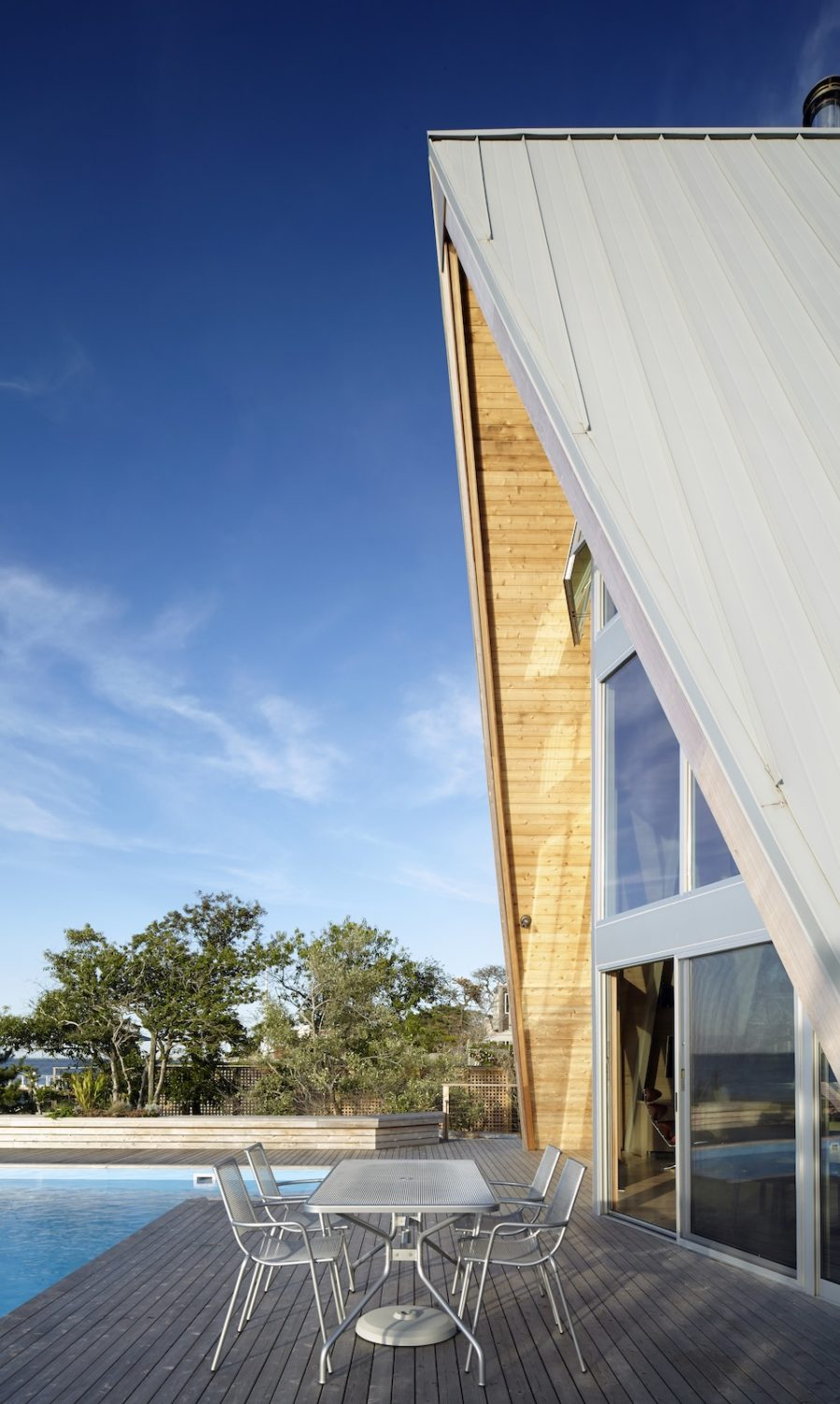 A-Frame House Rethink by Bromley Caldari Architects