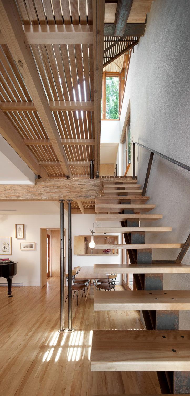 Bernier-Thibault Residence by Paul Bernier Architecte