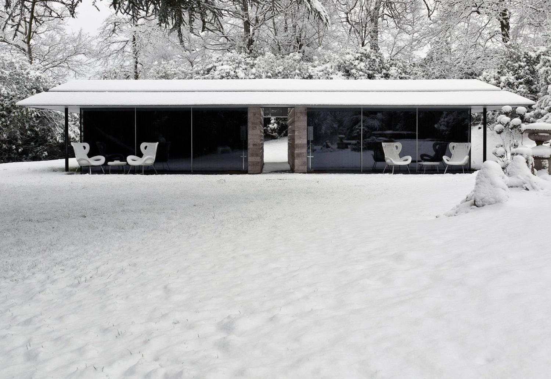 Capel Manor House | Guest Pavilion by Ewan Cameron Architects