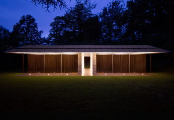 Capel Manor House | Guest Pavilion by Ewan Cameron Architects
