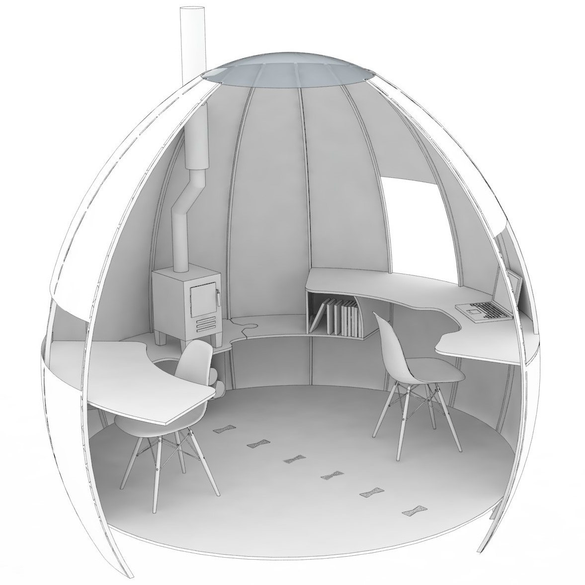 The Escape Pod by Podmakers