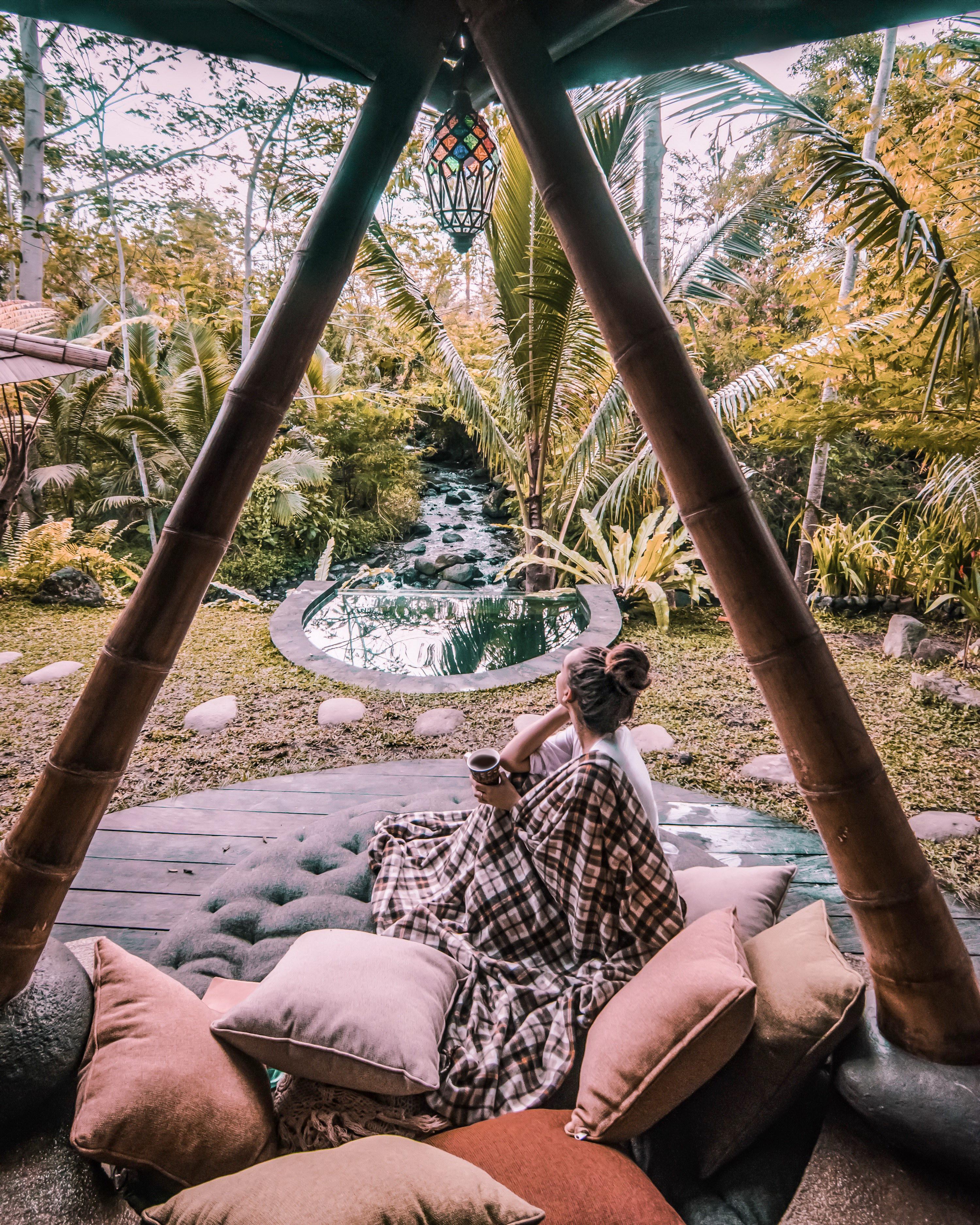 Hideout Bali   Eco Bamboo Home   Cabins in Bali