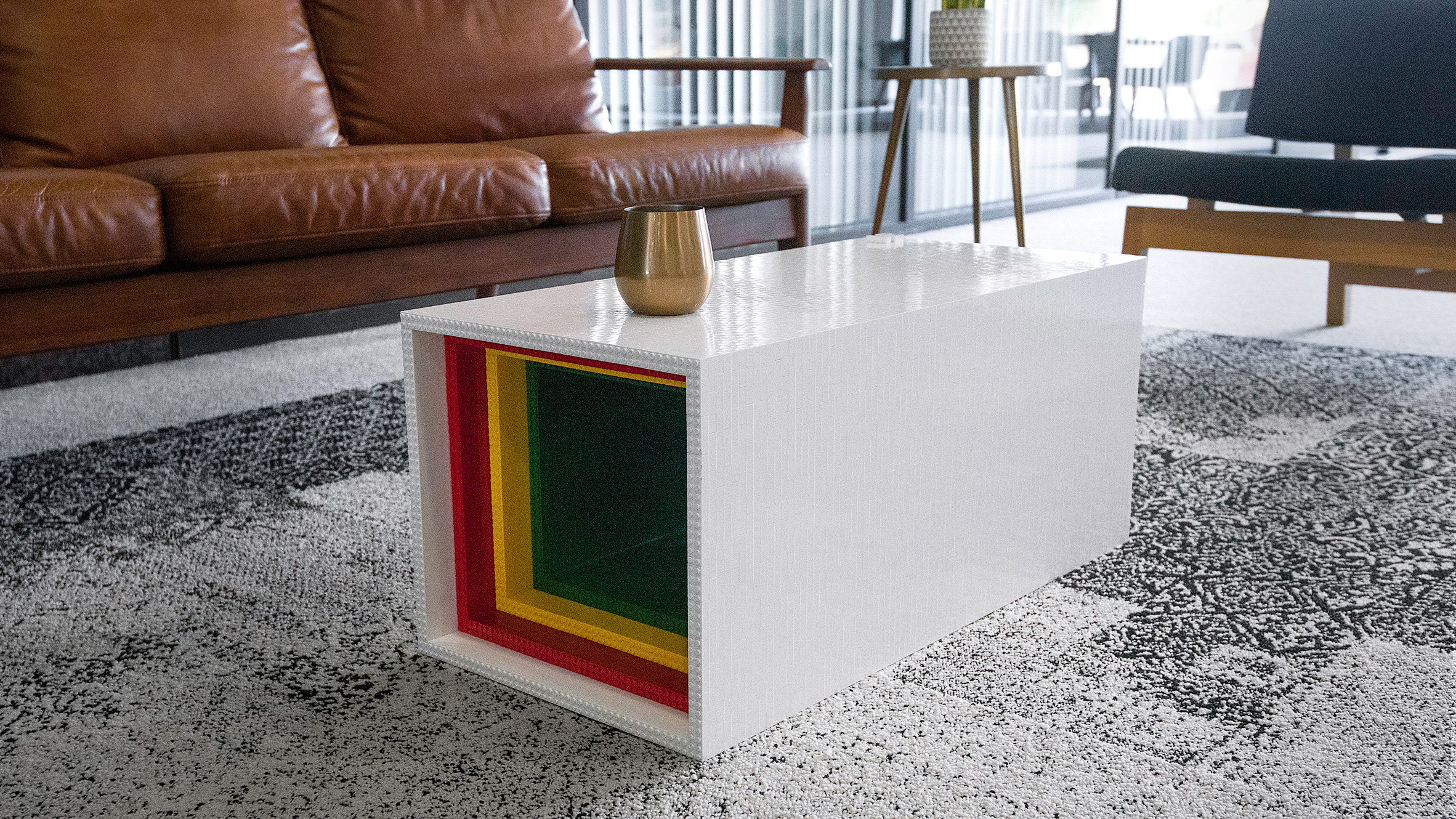 Lego Table by Yusong Zhang