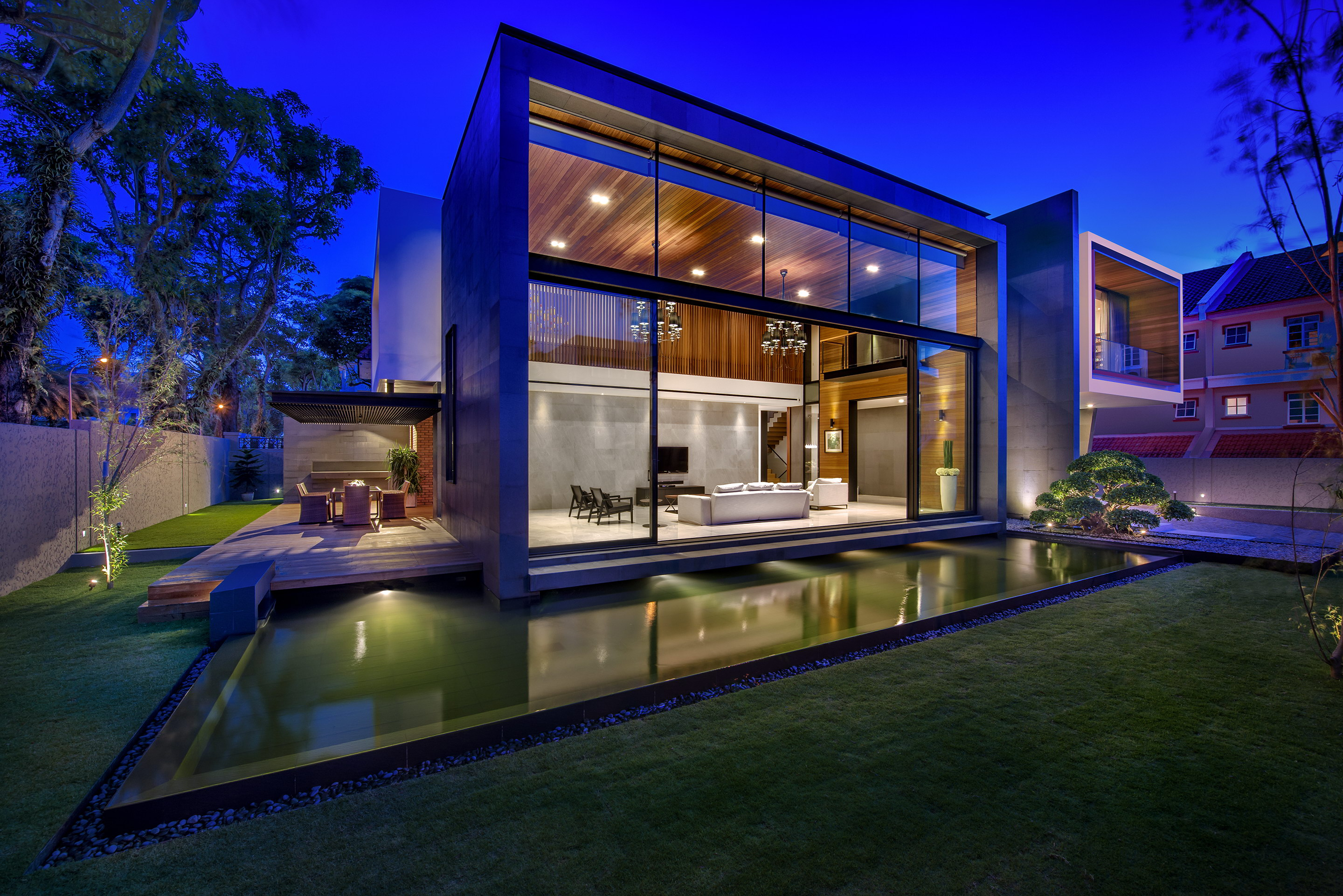 Mimosa Road | Mimosa House by Park + Associates