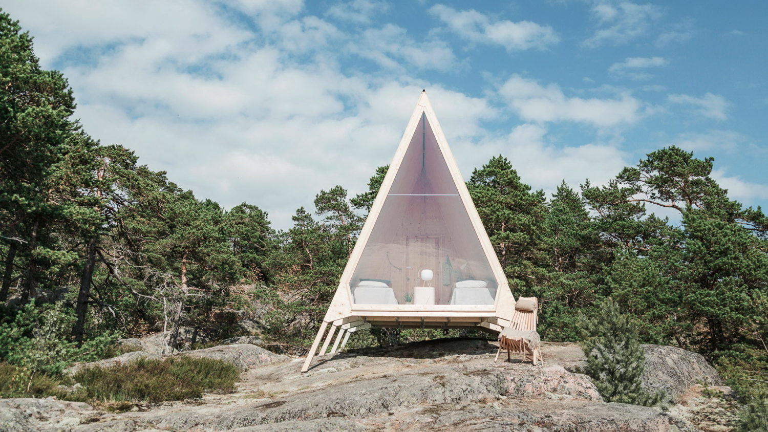 Nolla Cabin | A-frame Holiday Home in Finland