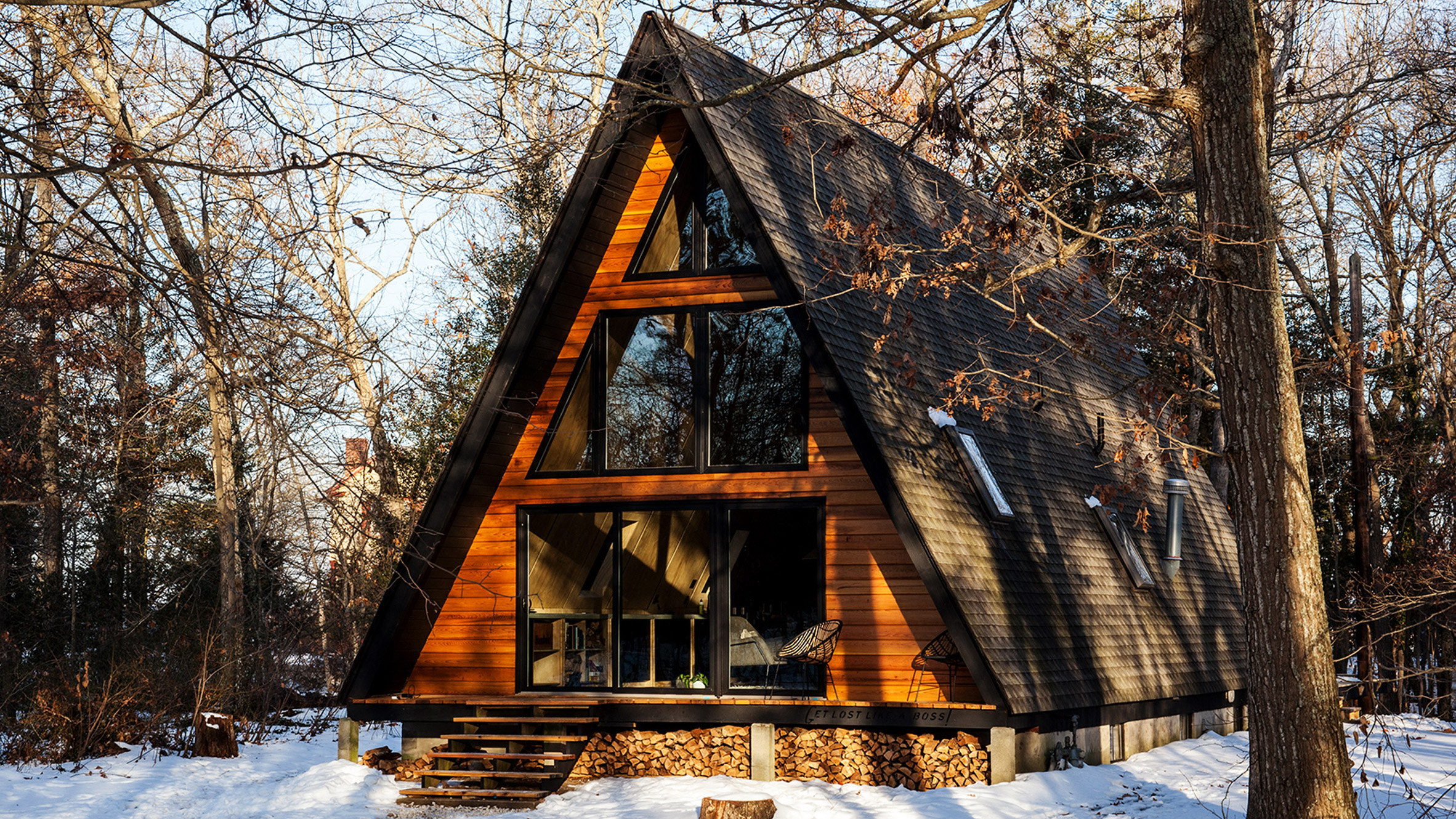 Renovated A-Frame Cabin | Cosy Guest Lodge