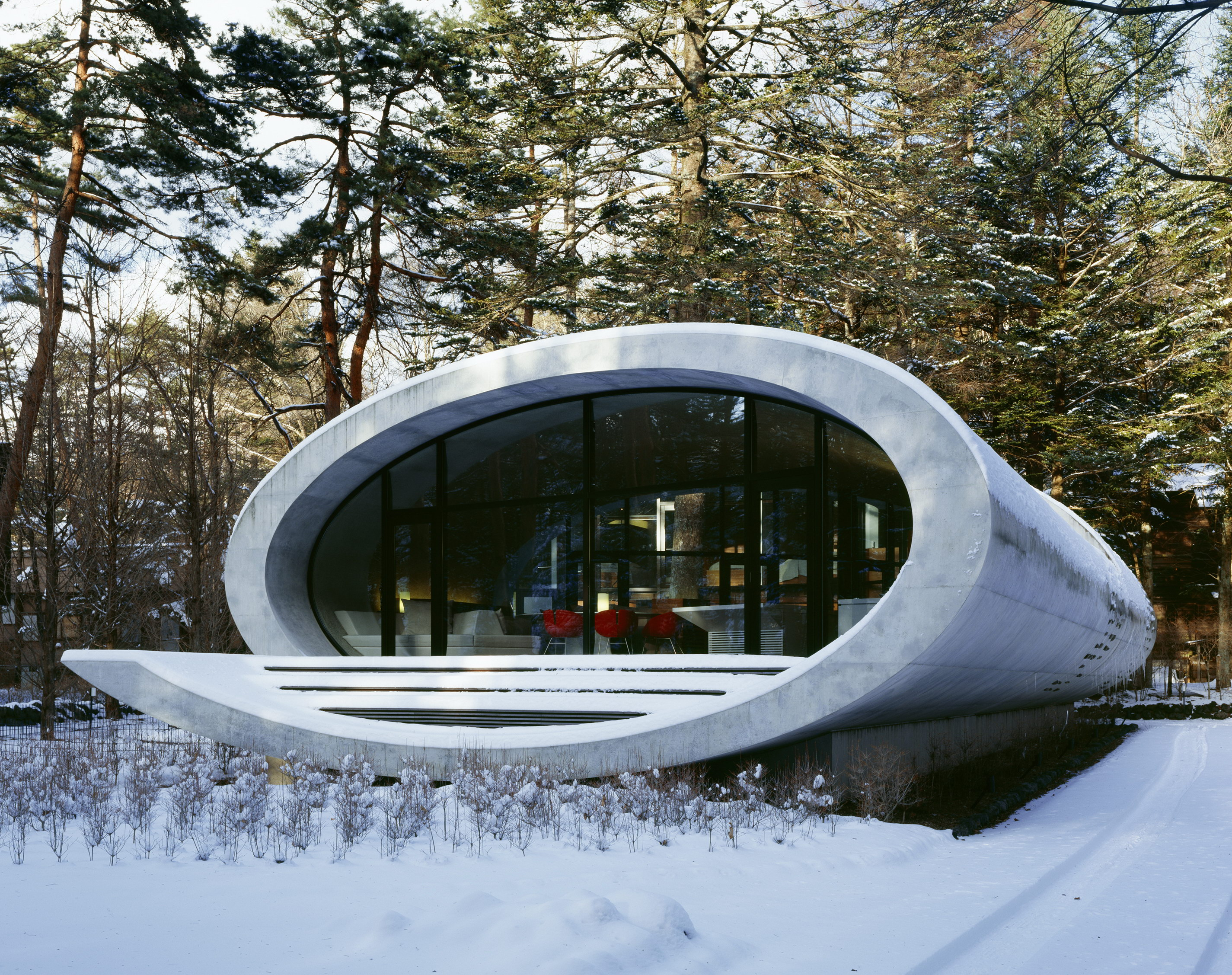 Shell House Futuristic Forest Home Artechnic 29 Wowow