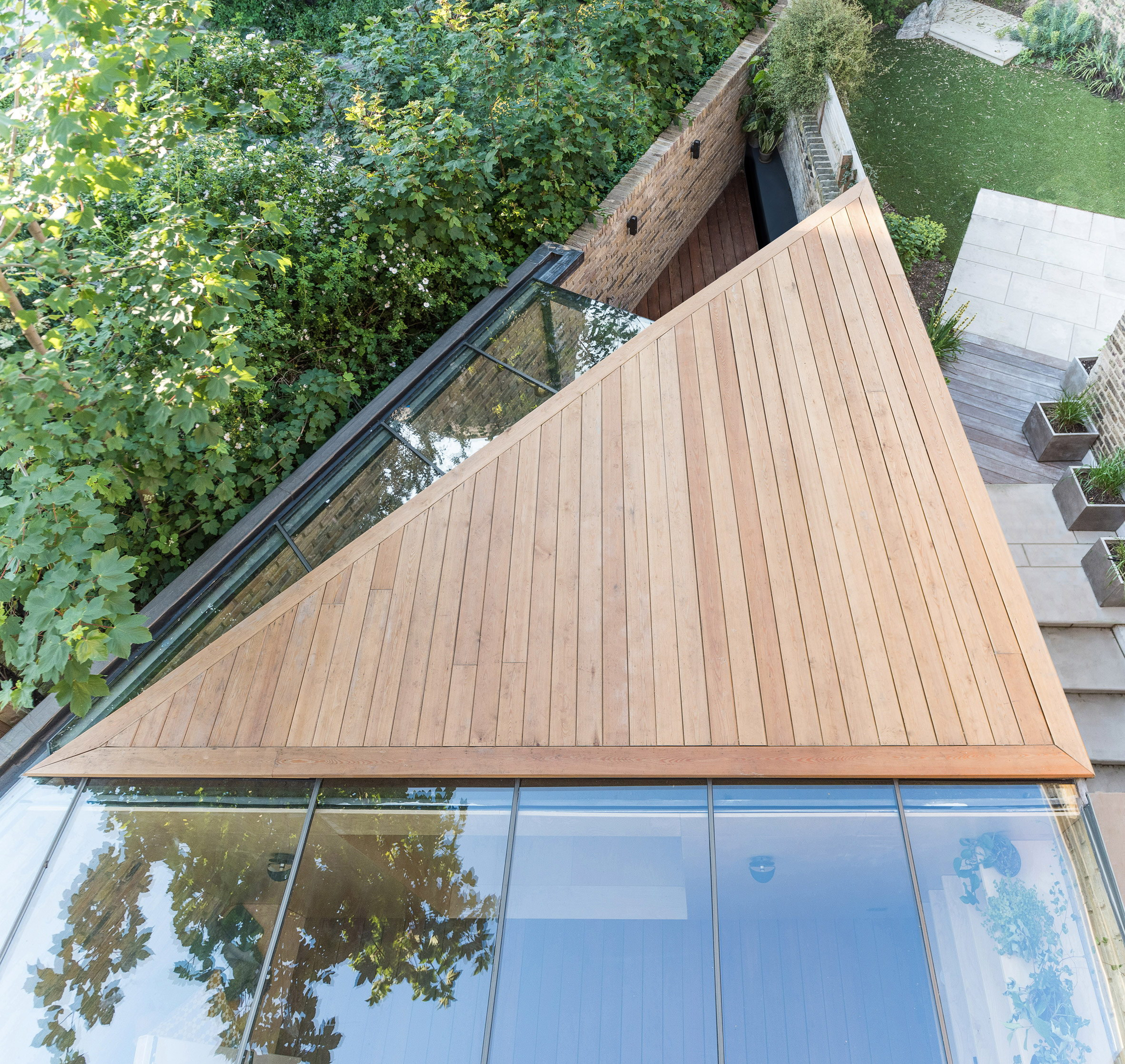 The Triangle   Backyard Study Extension