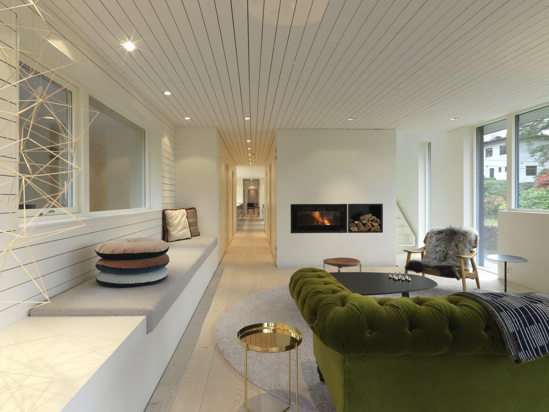 Villa S   Dark Modern Home by Saunders Architecture