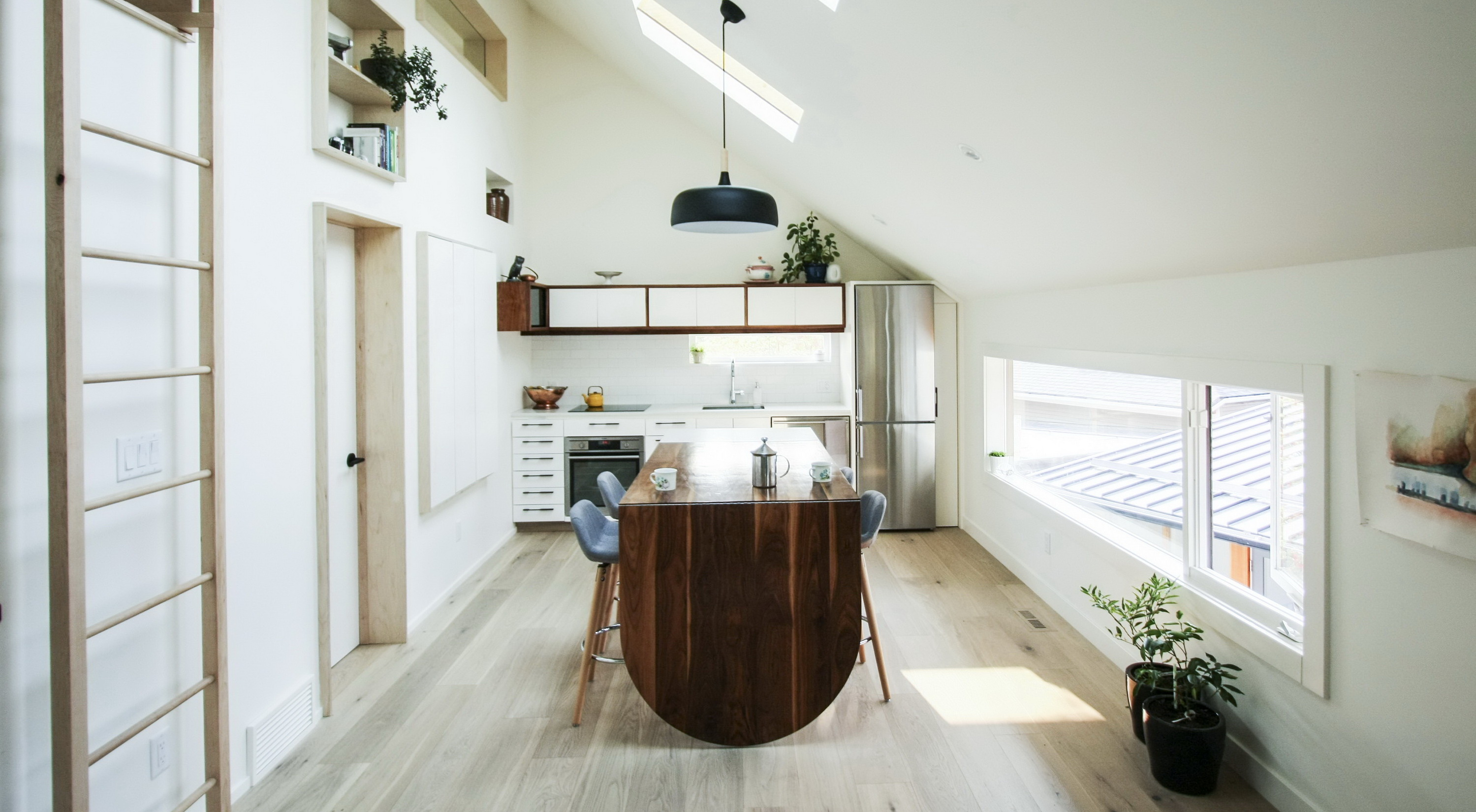 Withrow Laneway House   Compact Living Space