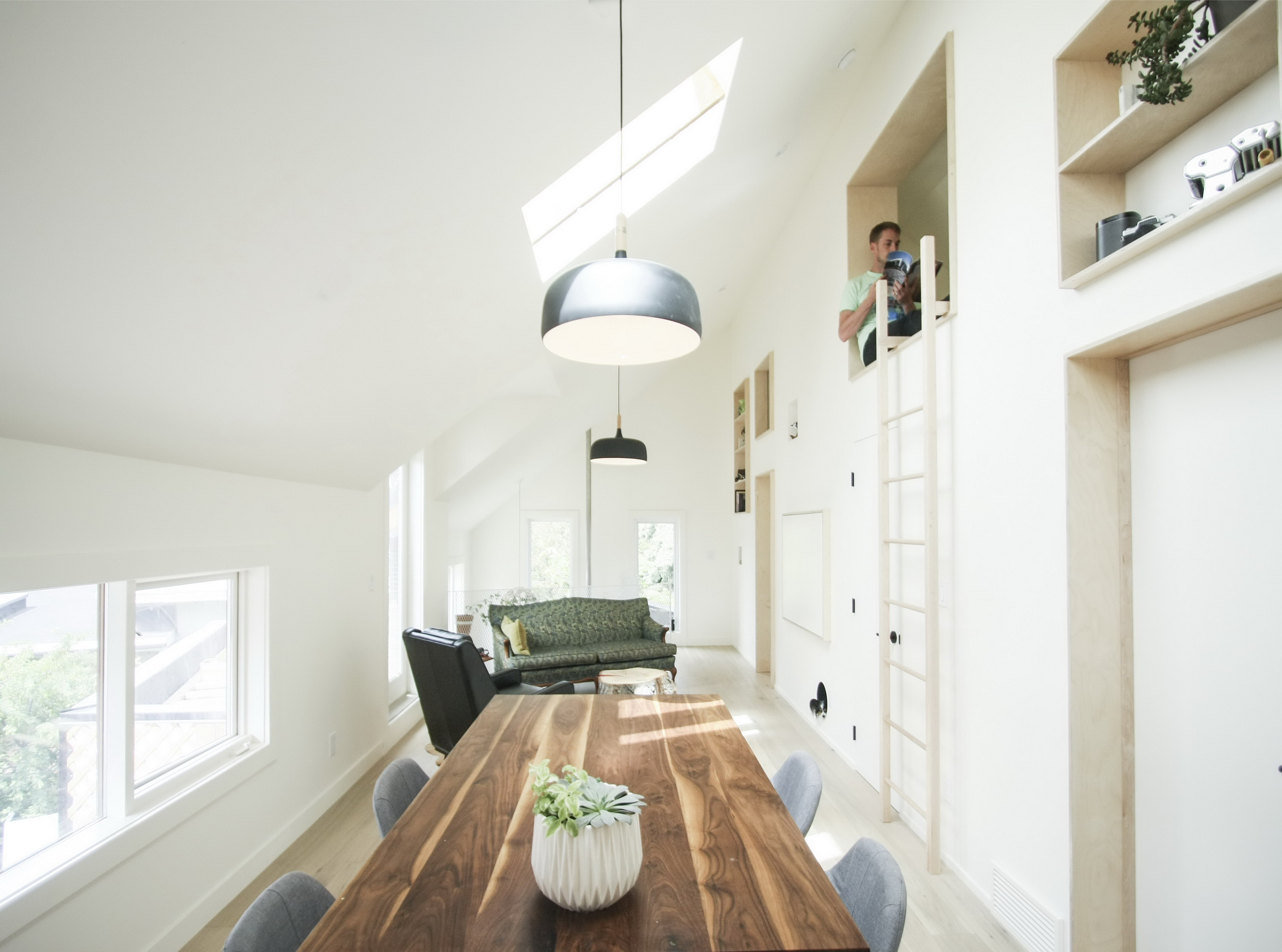 Withrow Laneway House | Compact Living Space