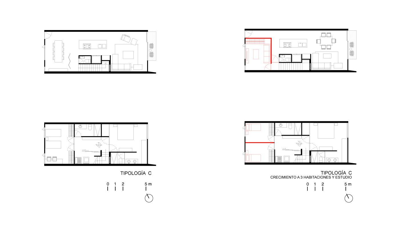 Yacatas 475 | Multi-Unit House by EDAA