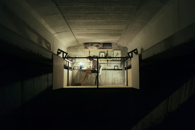 Fernando Abellanas Suspends Secret Studio Under a Bridge in Valencia