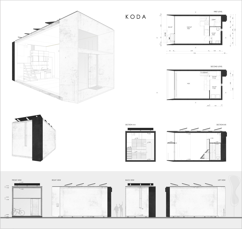 KODA   Prefabricated Tiny House by Kodasema