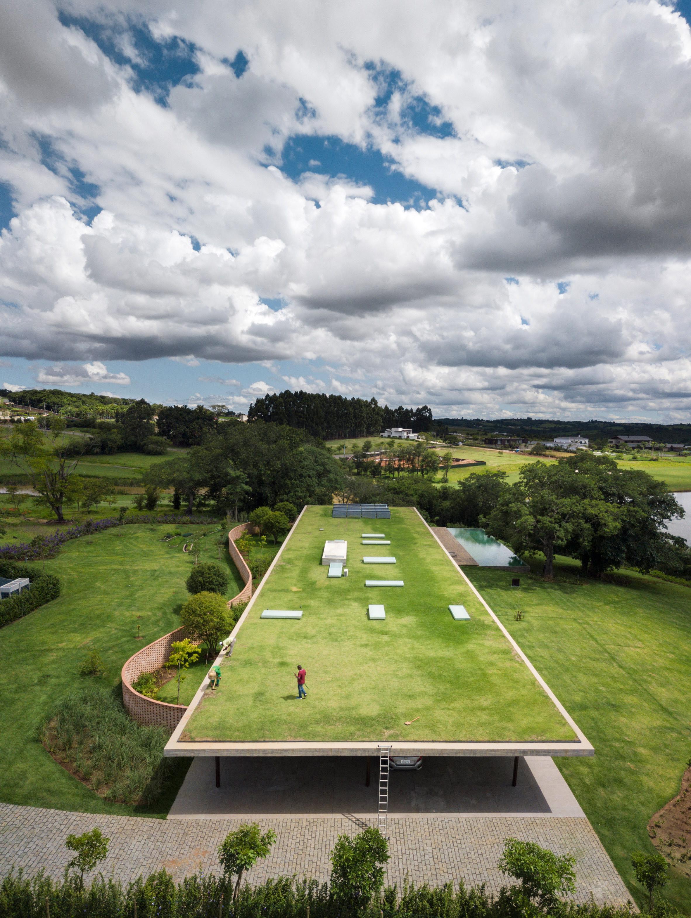 Roof Garden Design Architecture