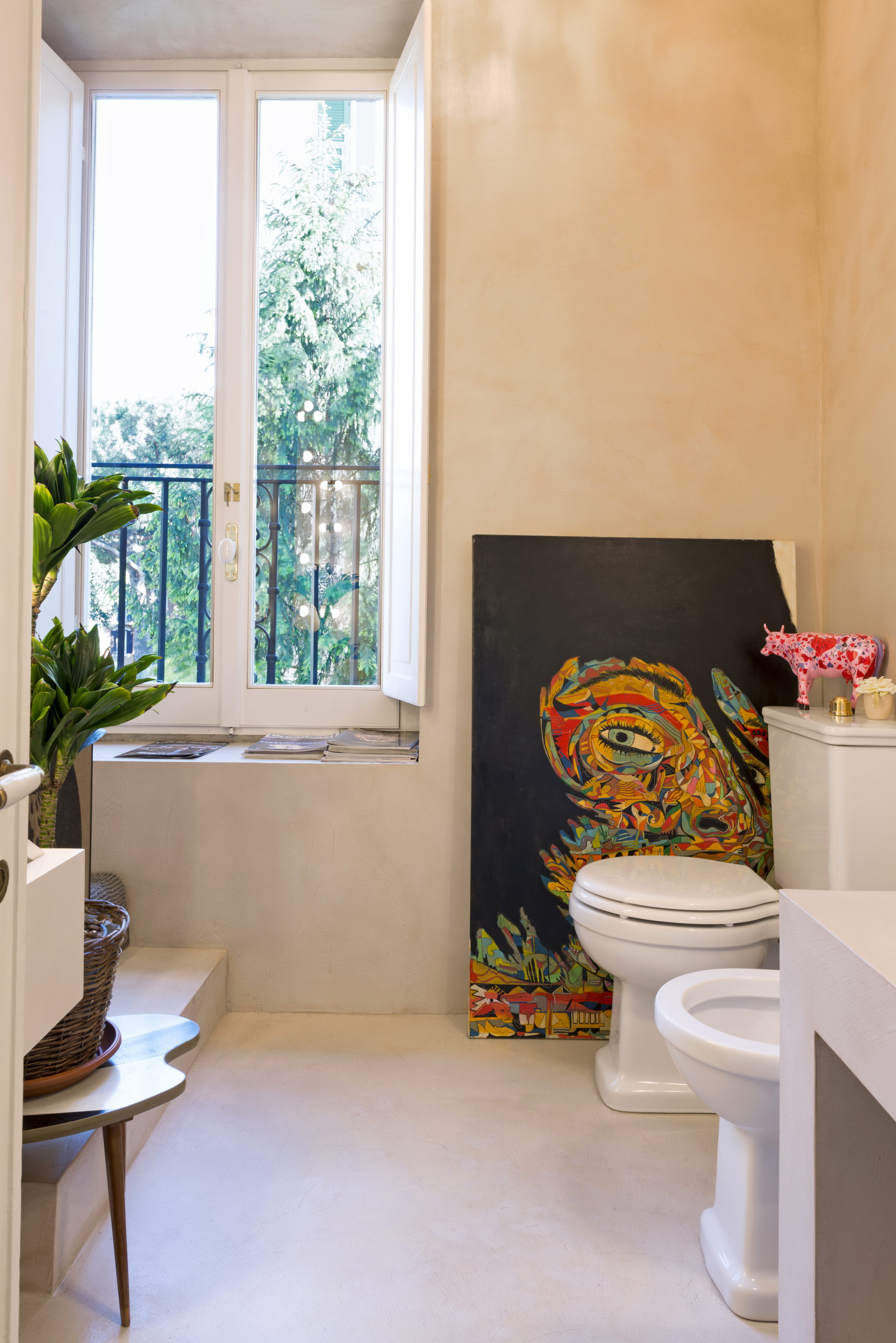 Pointing House   Rome Apartment Renovation