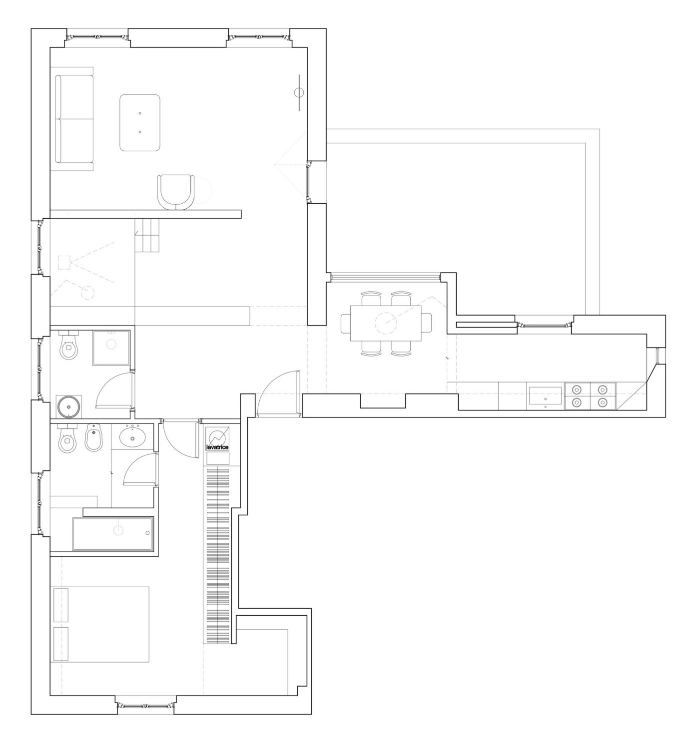 Pointing House | Rome Apartment Renovation
