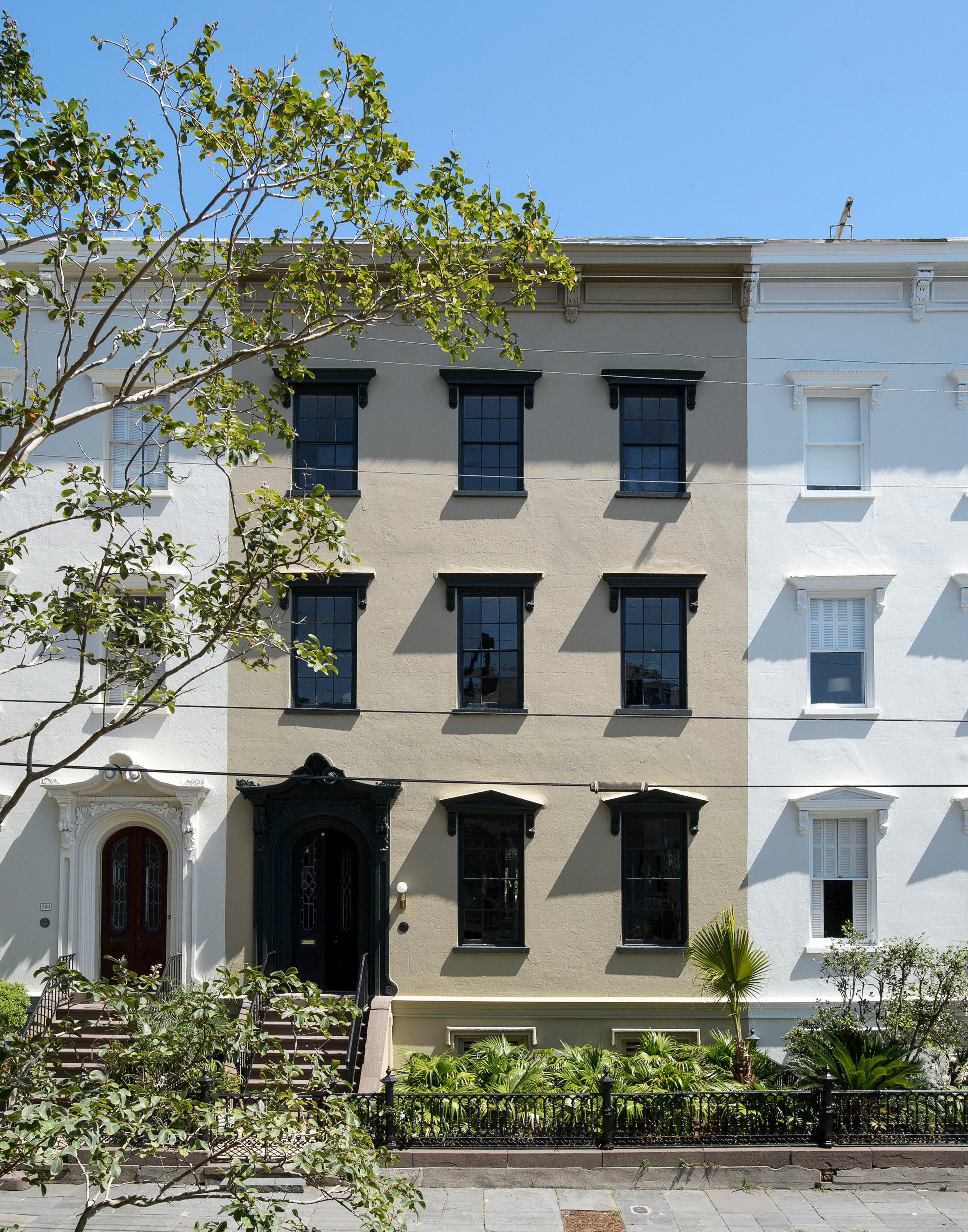 Workstead House   19th-century Charleston Row House