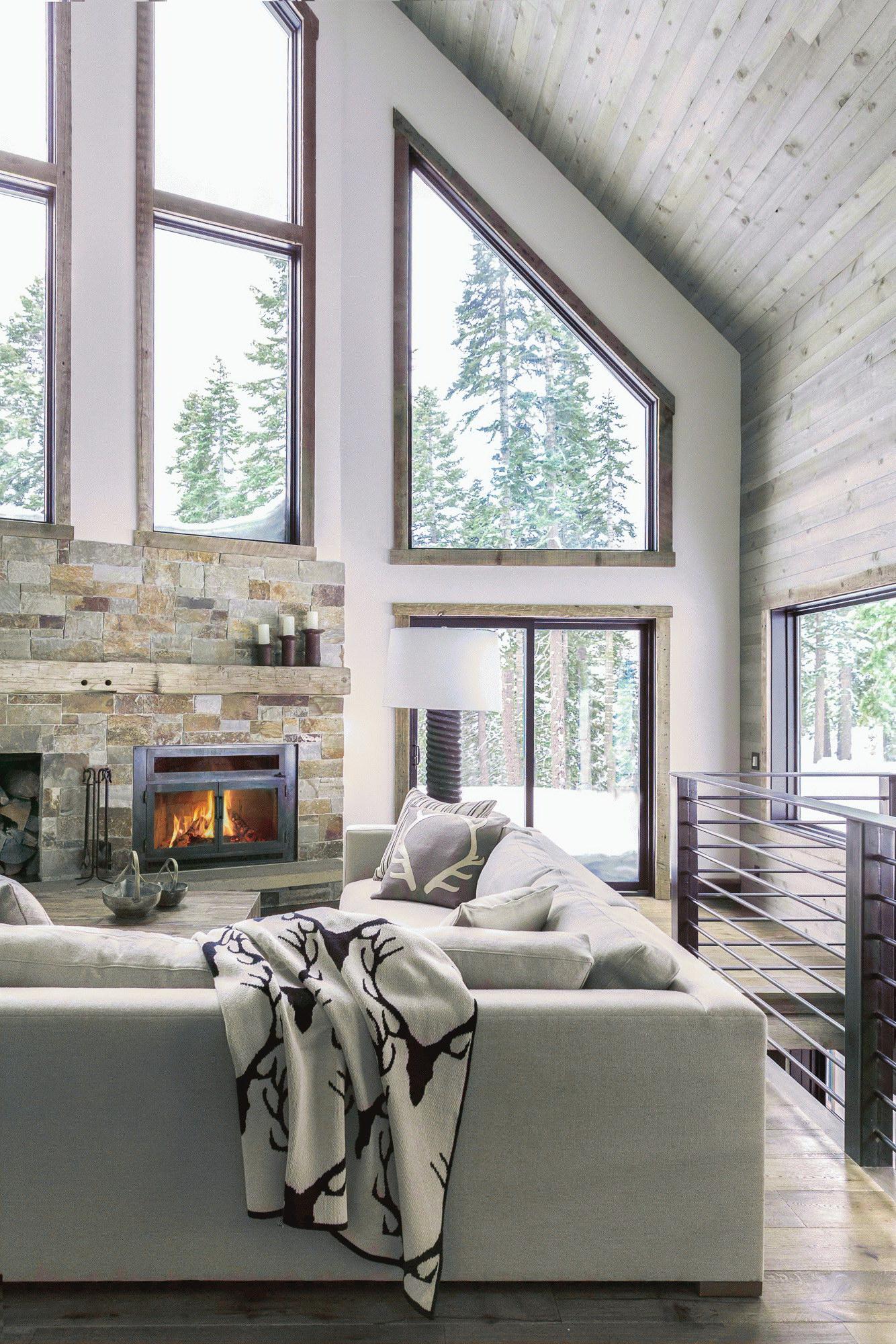 Alpine A-Frame House by High Camp Home